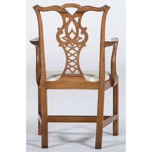 Irish Chippendale Armchair