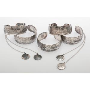 S Kirk & Sons Bracelets and Necklaces, Lot of Nine