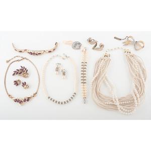 Large Assortment of Costume Jewelry PLUS