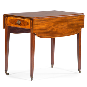 English Hepplewhite Pembroke Table