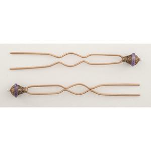 18 Karat Gold Victorian Hairpins