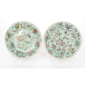 Chinese Fencai Plates