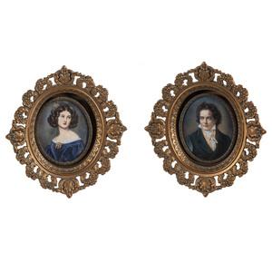 Two Grand Tour Miniatures