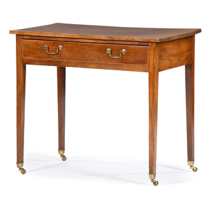 English Hepplewhite Inlaid Writing Table