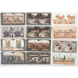 Miscellaneous Stereoview Collection, Including Rough Riders, World War I, US Presidents, Battleships and More