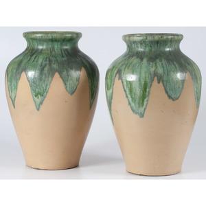 Glazed Stoneware Vases