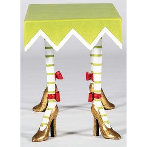 Patience Brewster for Mackenzie-Childs, High Heel Shoe Rectangular Table