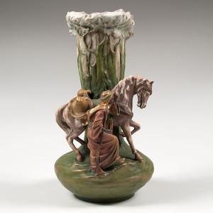 Amphora Figural Vase