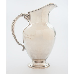 Preisner Sterling Water Pitcher