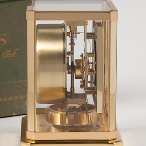 1960s LeCoultre Atmos Clock with Carrying Case