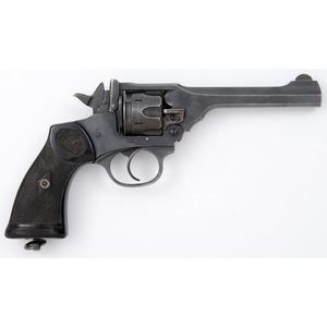 ** British Webley & Scott Mk IV Revolver