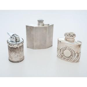 Birmingham Sterling Flasks, Plus