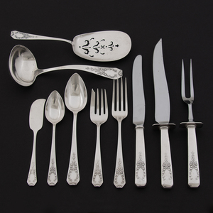 Gorham and Whiting Sterling Flatware, Madame Jumel