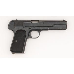 ** Swedish Husqvarna M1907 Pistol with Unit Markings