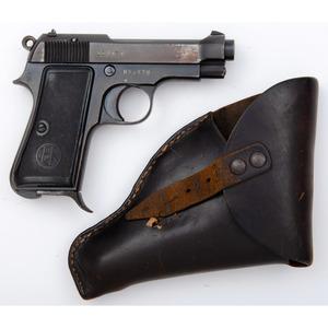 ** Italian Beretta Model 1934 Pistol with Holster