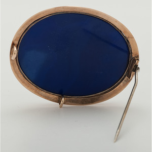 14 Karat Gold Victorian Micromosaic Brooch