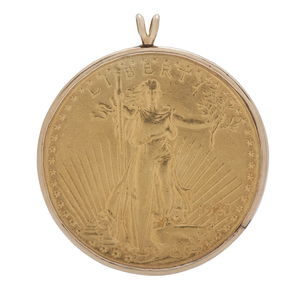 Saint-Gaudens Double Eagle Pendant