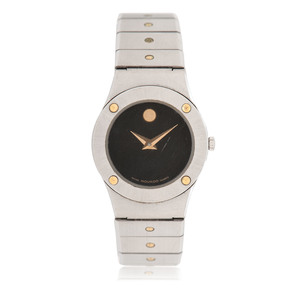 MovadoTwo-Tone Wrist Watch