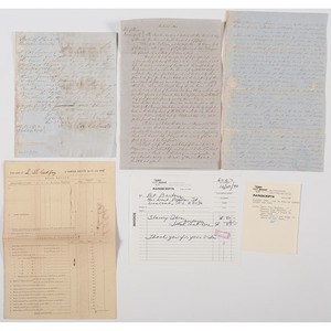 Four Documents from Florida Concerning Slaves