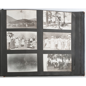 Early 20th Century Photo Album, Including Western Scenes