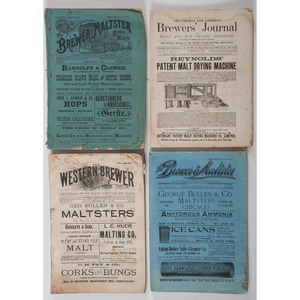 Late 19th Century Brewing Industry Periodicals