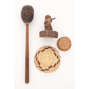 Plains Rattle and Drum Beater PLUS