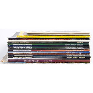 A Selection of American Indian Art Magazines PLUS