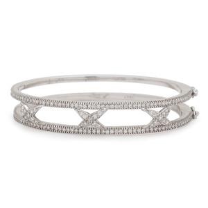 Hidalgo 18 Karat White Gold Diamond Bracelet