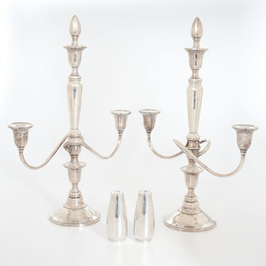 International Sterling Candelabra, Plus