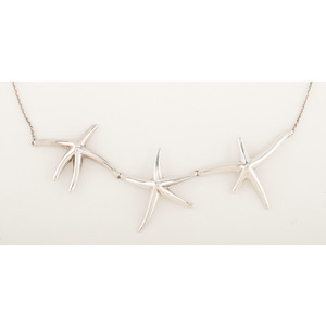 Tiffany & Co. Starfish Necklace in Sterling Silver