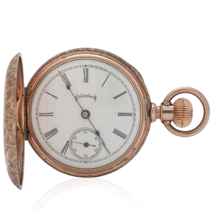 Columbus Hunter Case Pocket Watch