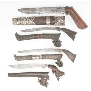 A Group of Indonesian Knives