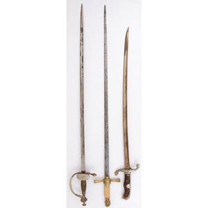 Lot of Three Swords