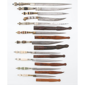 Lot of Eleven Daggers including Flyssas