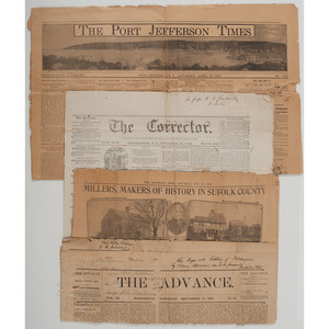 Civil War Documents and Personal Newspaper Collection of California Pioneer Nathaniel Miller