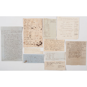 Miscellaneous Slavery-Related Documents - Court Decisions, Receipts, Refunds, Etc.