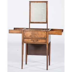 George III Inlaid Gentleman's Dressing Table