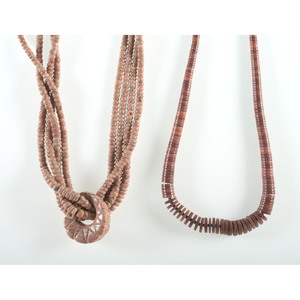 Kewa Multi-Strand Pipe Stone Necklaces