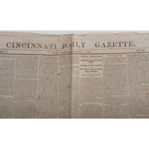 Civil War-Era Newspaper Collection, Lot of 11