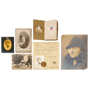 [Americana - Manuscript - Red Cross] World War I Diary and Archive of Anna Weimar, Who Worked with the Red Cross Nurses in France