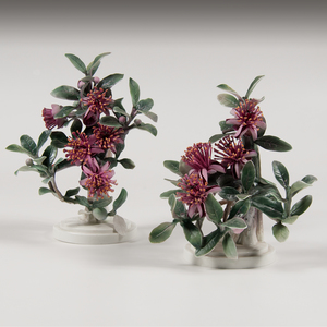 Royal Worcester Dorothy Doughty Mexican Feijoa Figures