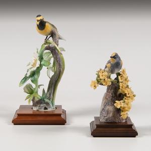 Royal Worcester Dorothy Doughty Warbler Figures