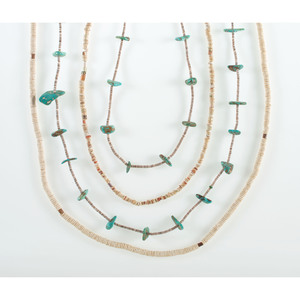Southwestern Heishi and Turquoise Necklaces