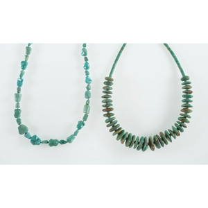 Southwestern Style Turquoise Necklaces, From the Estate of Krystal E. Nitschke, Chicago, Illinois
