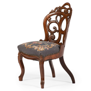 John Belter & Co. Rosewood Side Chair