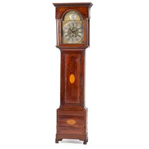Scottish Tall Case Clock, Signed Gardner
