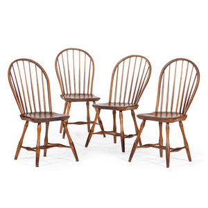 Sack Back Windsor Chairs