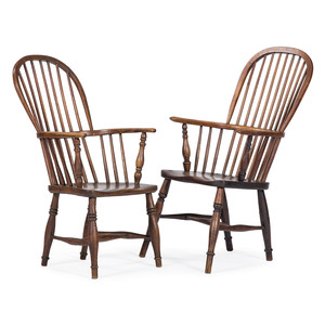 Stickback Windsor Armchairs
