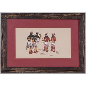 Hopi Gouache on Paper
