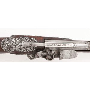 Early Bresican Flintlock Pistol